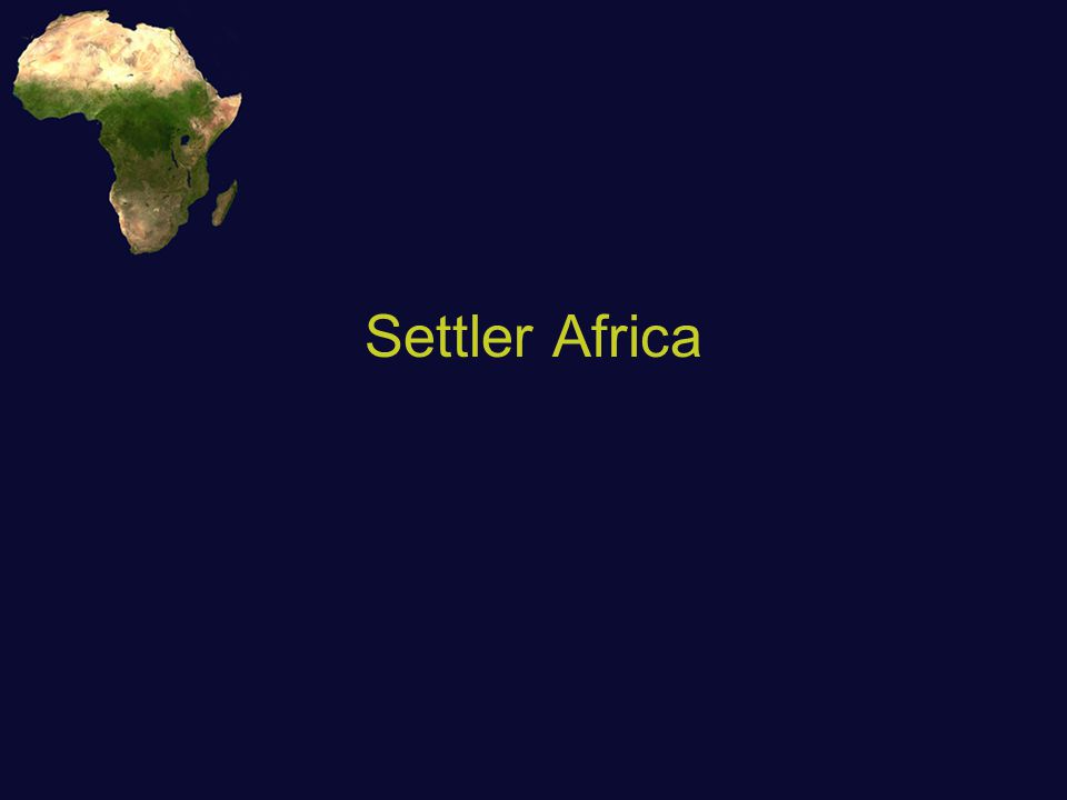 Settler Colonies Different obstacles met by settler vs.