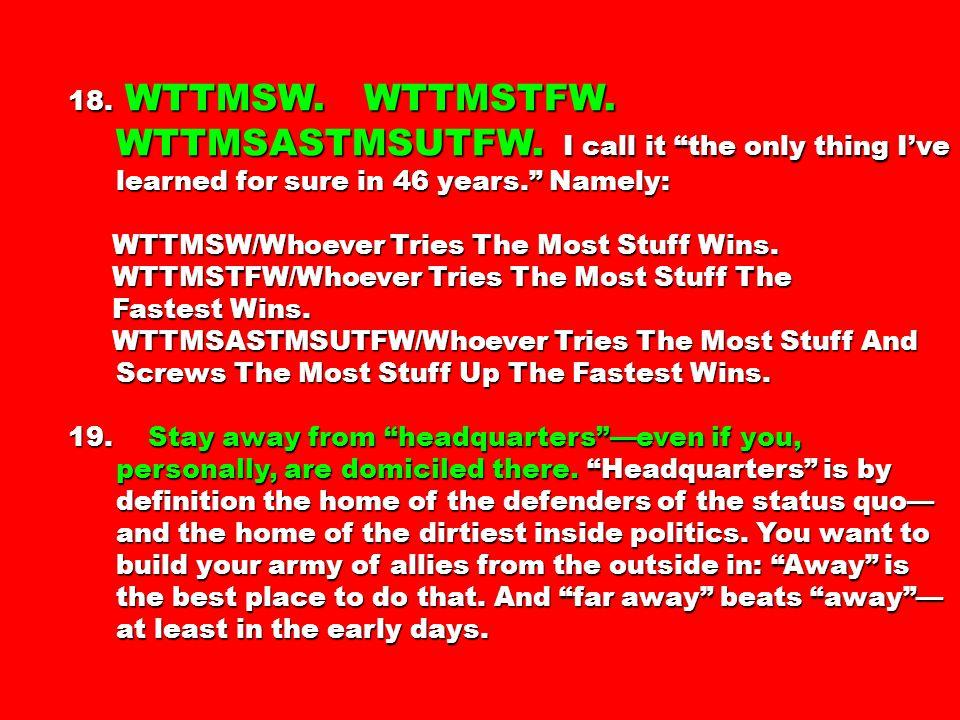 18. WTTMSW. WTTMSTFW. WTTMSASTMSUTFW.