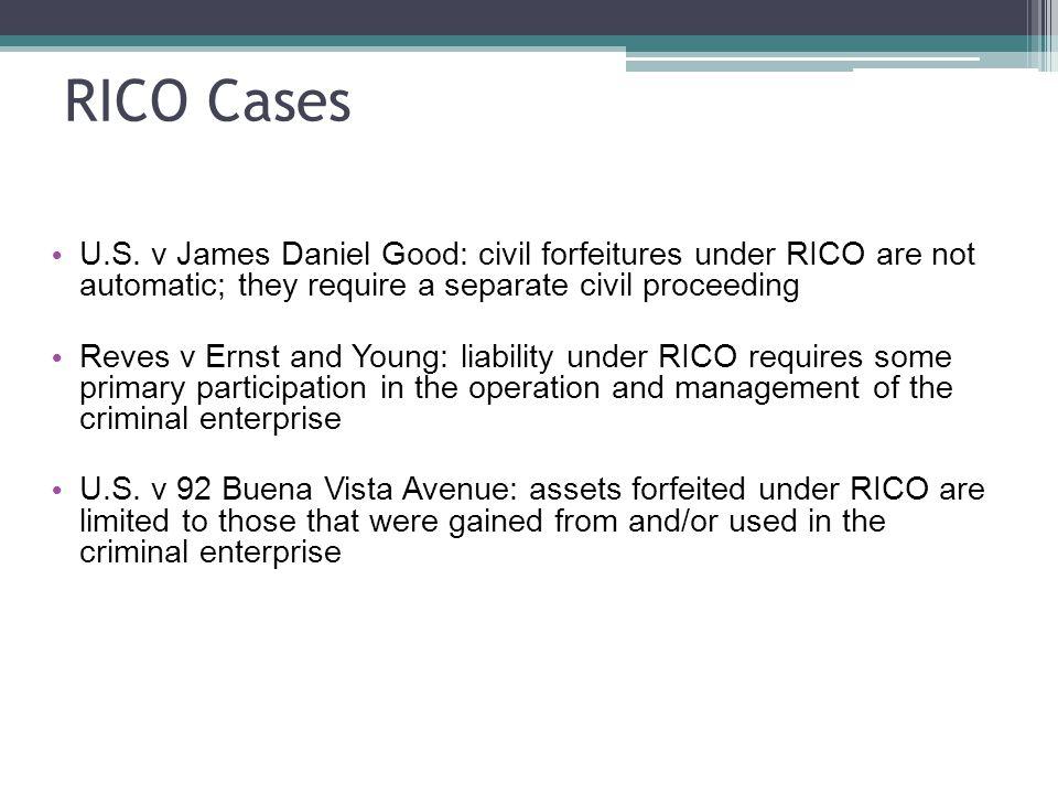 RICO Cases U.S.