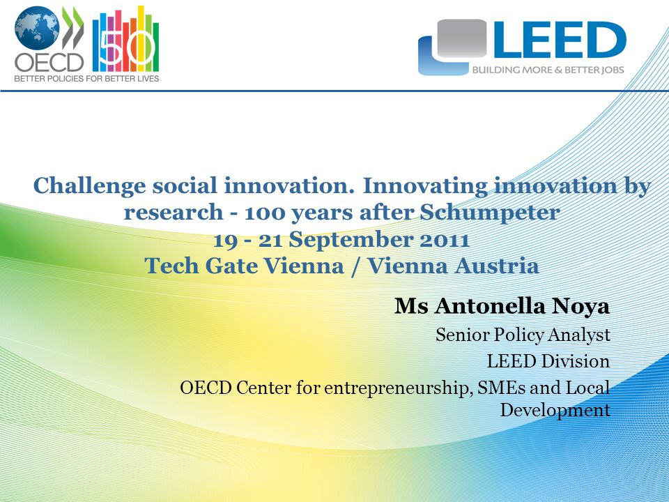 Challenge social innovation.