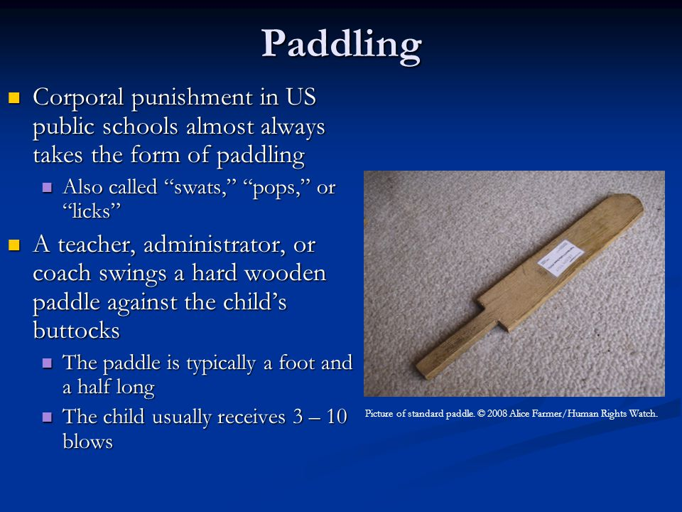 Particular Problems for Special Education Students Punishment for manifestations of their conditions Punishment for manifestations of their conditions Families we have interviewed note that their students receive corporal punishment for behavior associated with their disability (e.g.