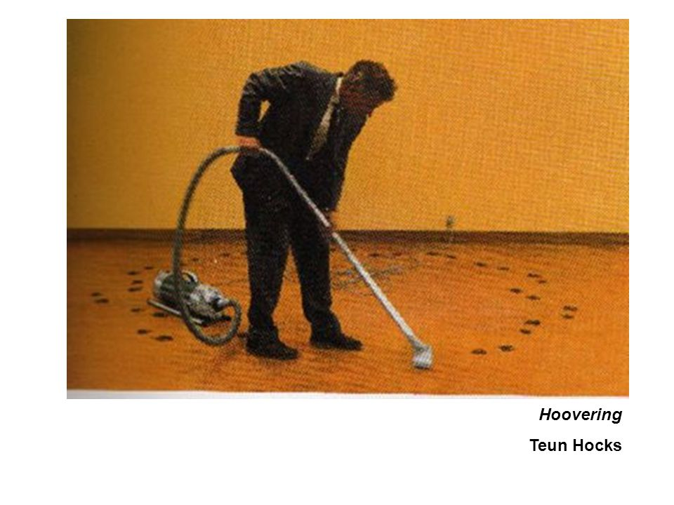 Hoovering Teun Hocks