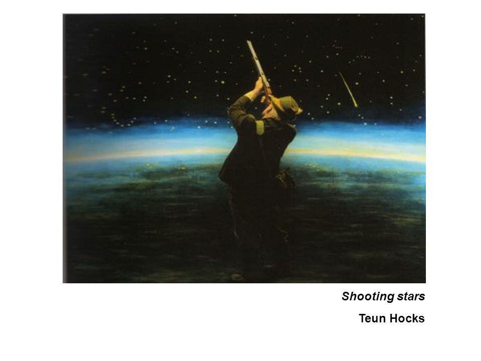Shooting stars Teun Hocks