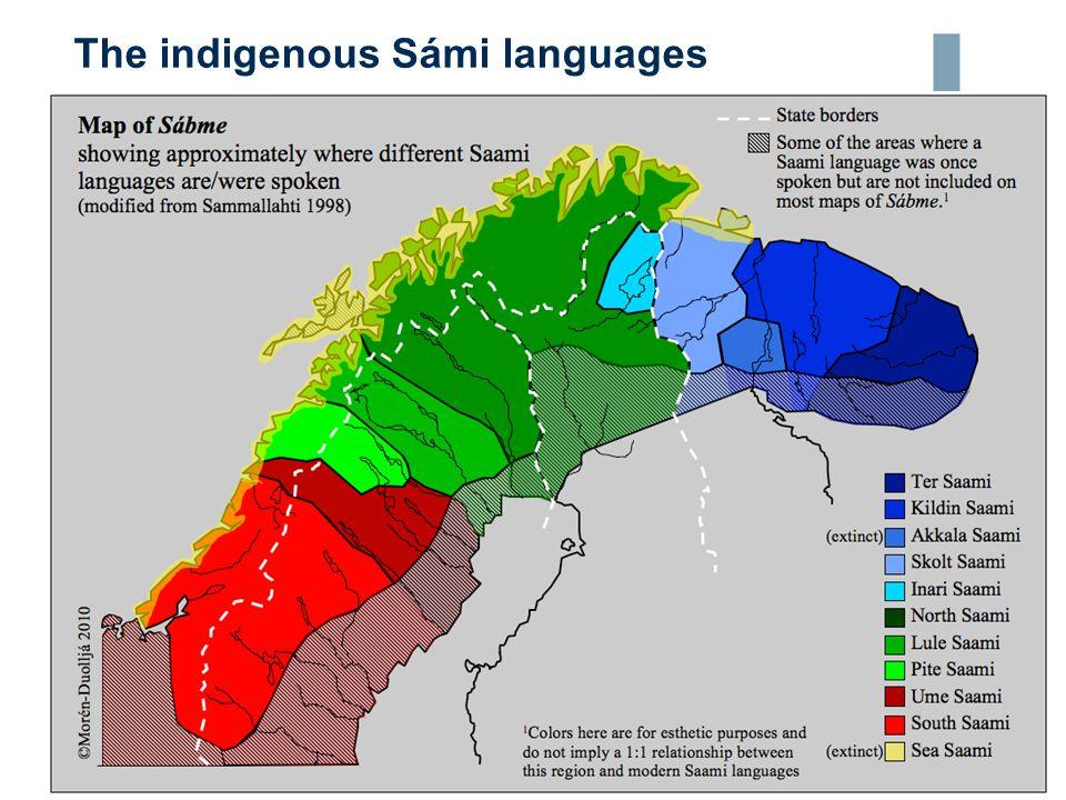 The indigenous Sámi languages 04.05.20158