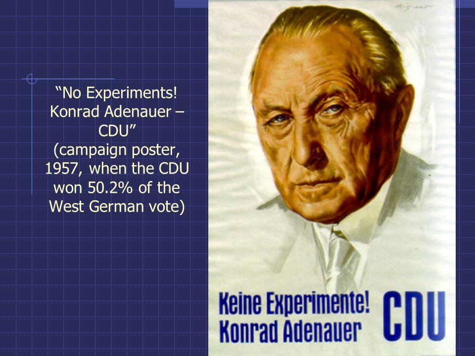 No Experiments.