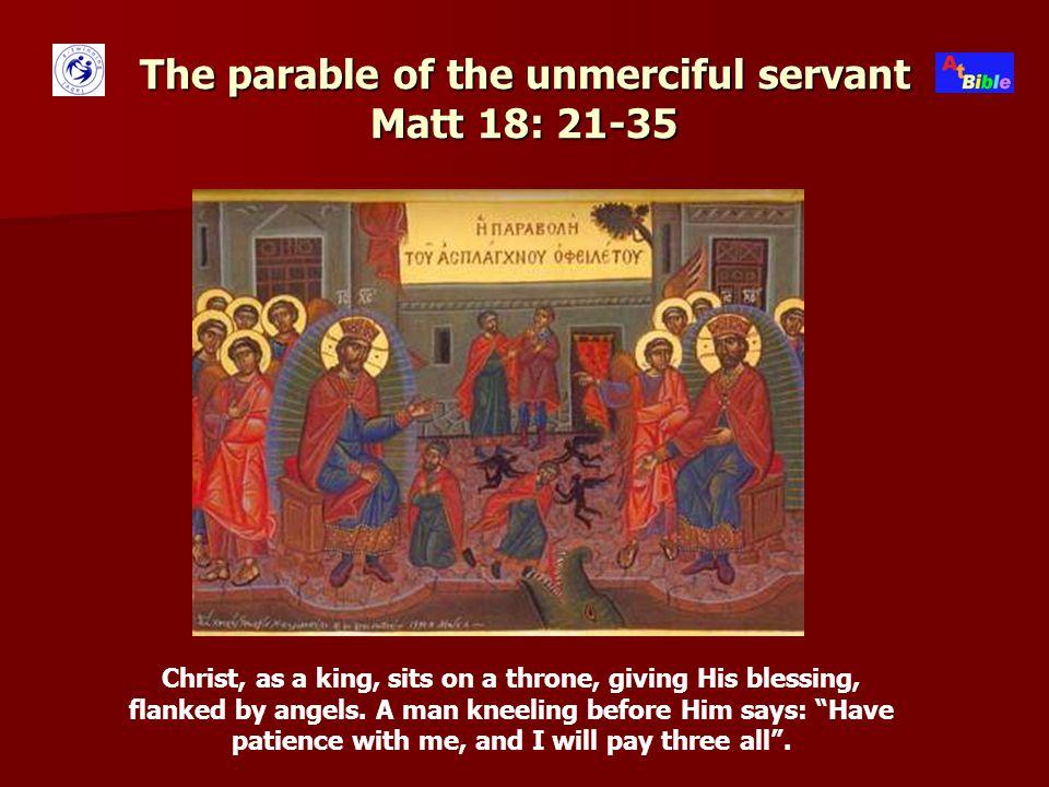 The parable of the good Samaritan Luke 10: 25-37 Mountains.