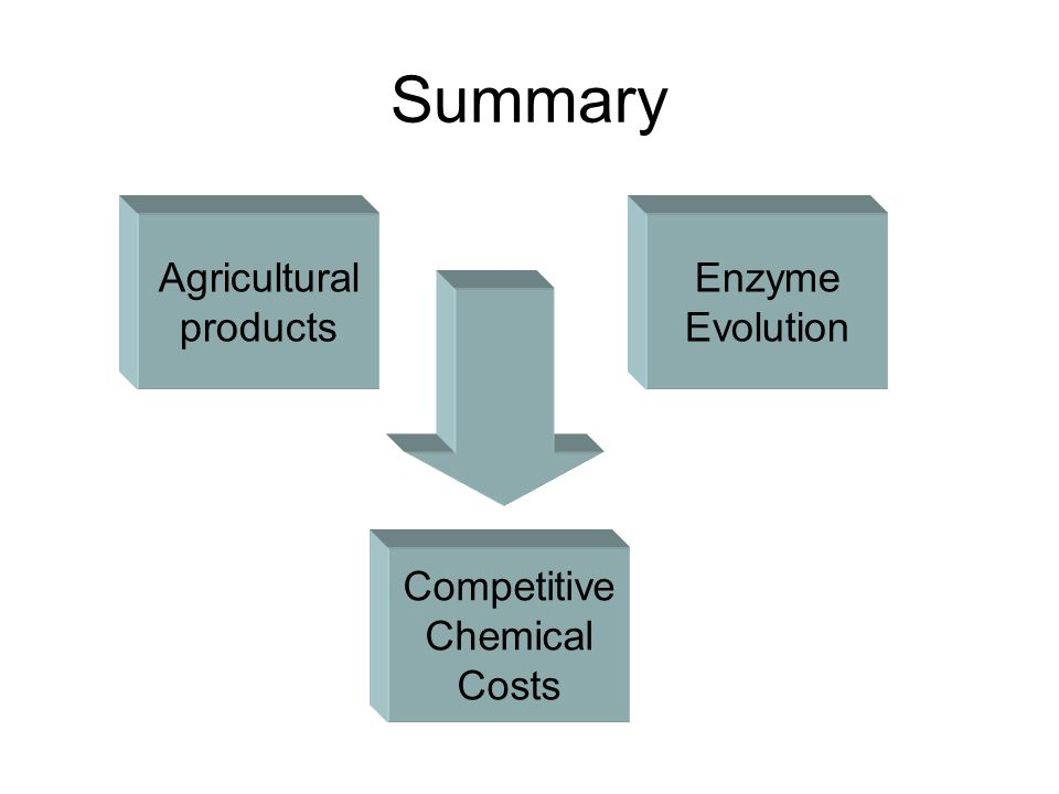 Future product aims Starch Glucose Lactic acid Propionic acid Acrylic acid H+H+ Lactobacillus Codexis