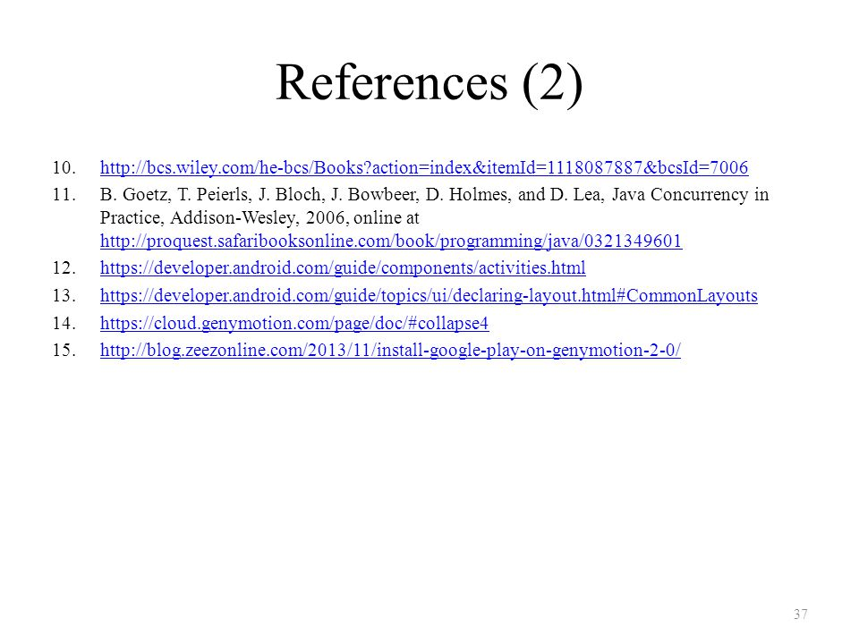 References (2) 10.http://bcs.wiley.com/he-bcs/Books action=index&itemId=1118087887&bcsId=7006http://bcs.wiley.com/he-bcs/Books action=index&itemId=1118087887&bcsId=7006 11.B.