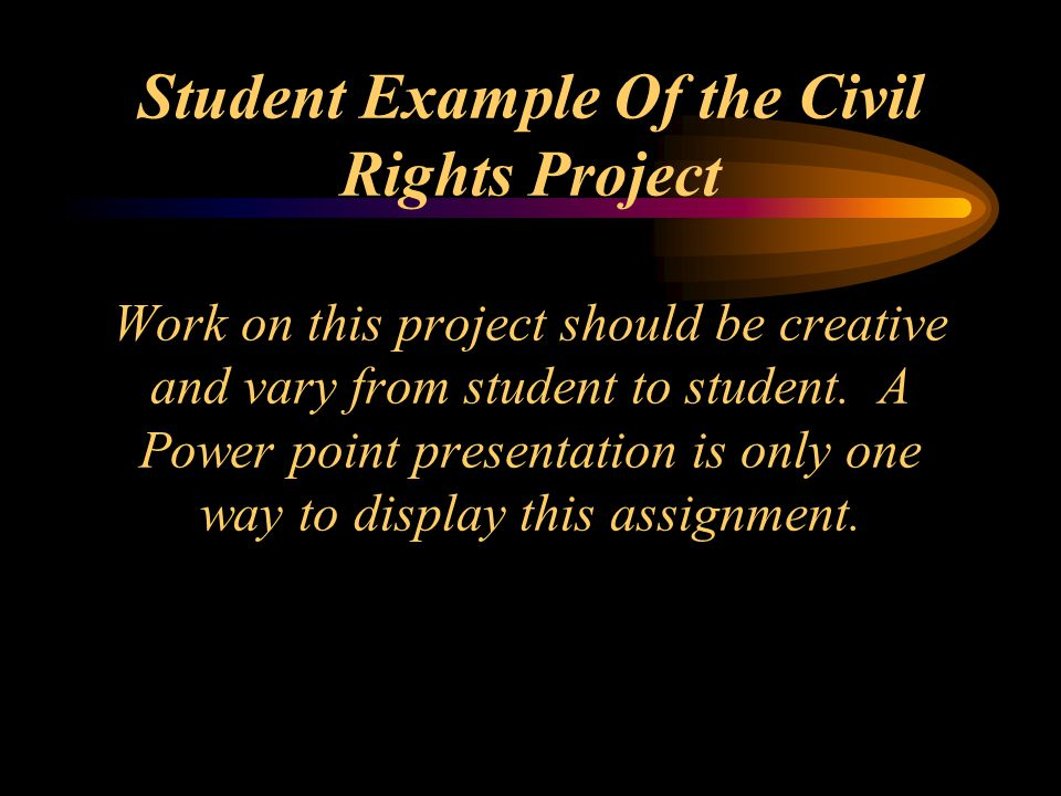 Affirmative Action One major result of the civil rights movement was establishment of affirmative action.