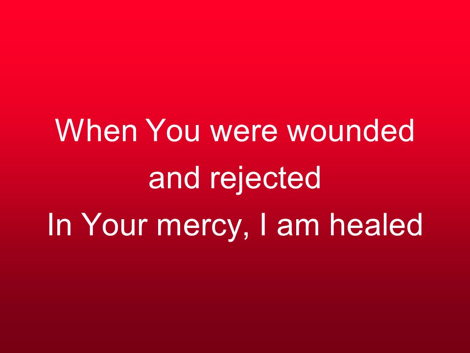 Jesus Christ, the sinner's friend does this kindness know no bounds With Your precious blood You have purchased me