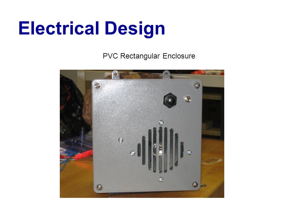 Electrical Design PVC Rectangular Enclosure