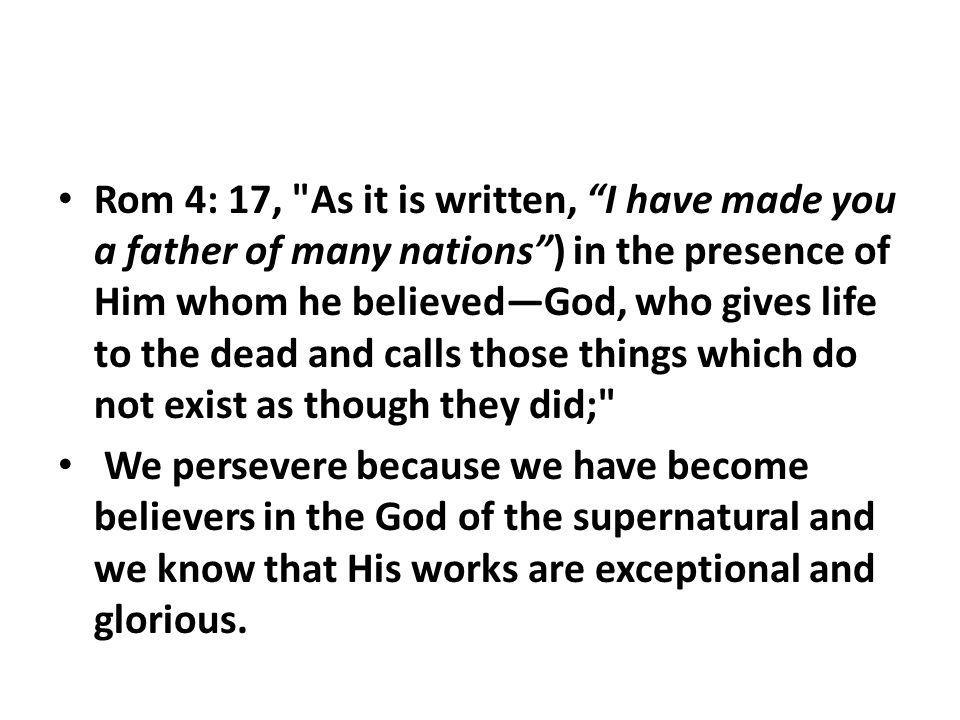 Rom 4: 17,