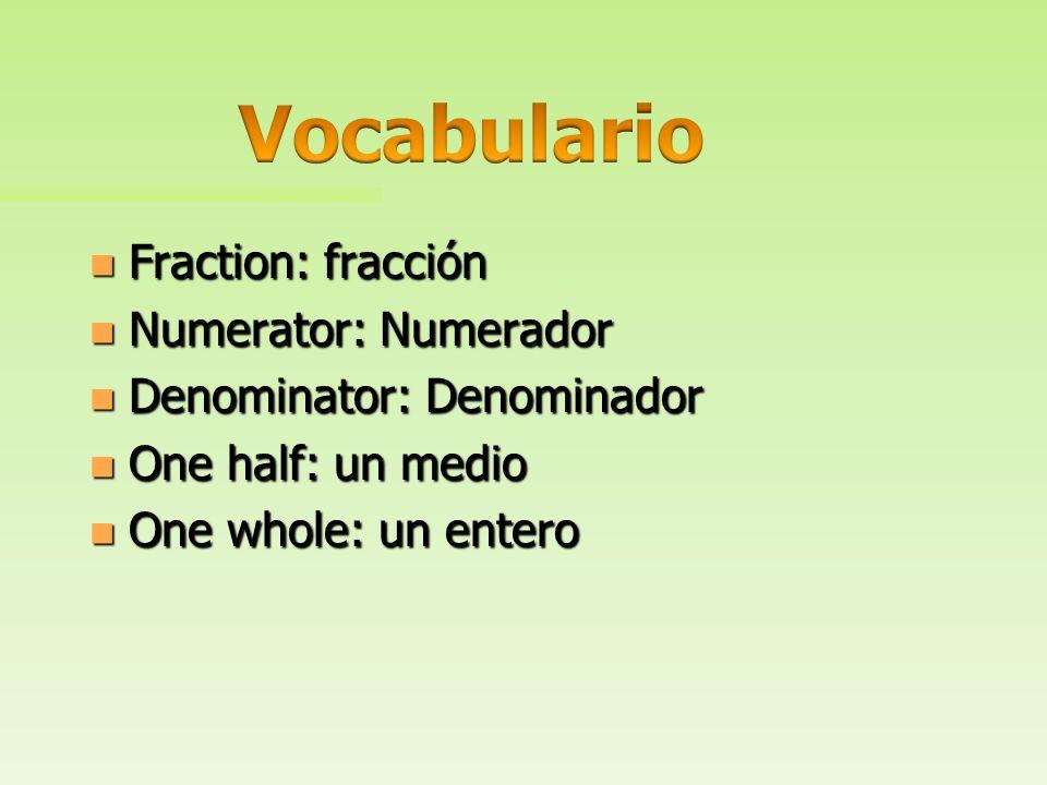 n ¿Cómo explico el significado de una fracción y su numerador y denominador, y como utilizo esta comprensión para representar y comparar fracciones?