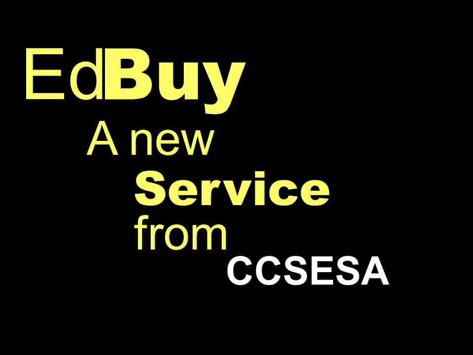 Buy Ed CCSESA Service A new from