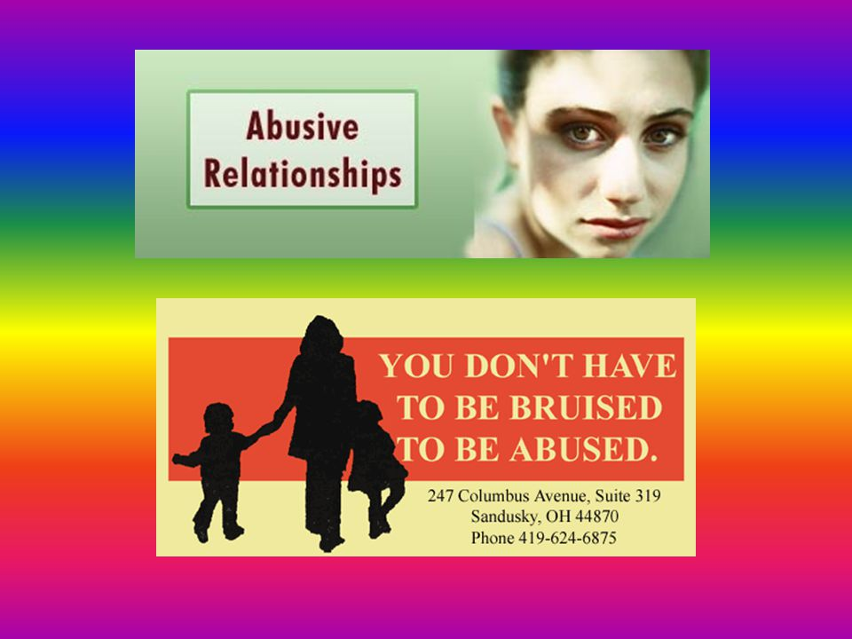 Def: Any behavior that is designed to control another person through the use of fear, shame, verbal or physical assaults.