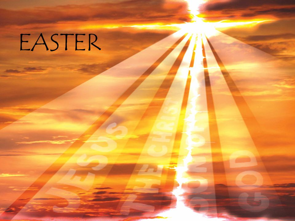  Easter is the most important festival of the year but for most Christians the promises and truth of Easter are part of everyday life.