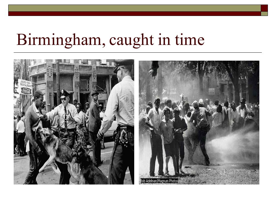 Birmingham, caught in time