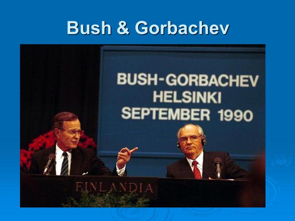Bush & Gorbachev