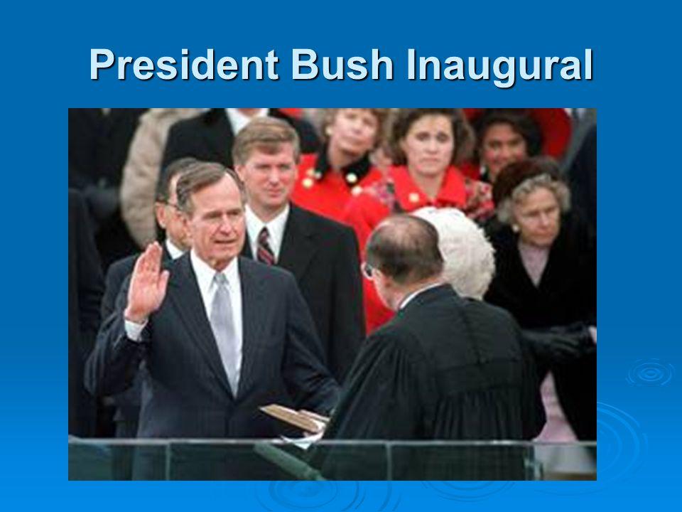 President Bush Inaugural