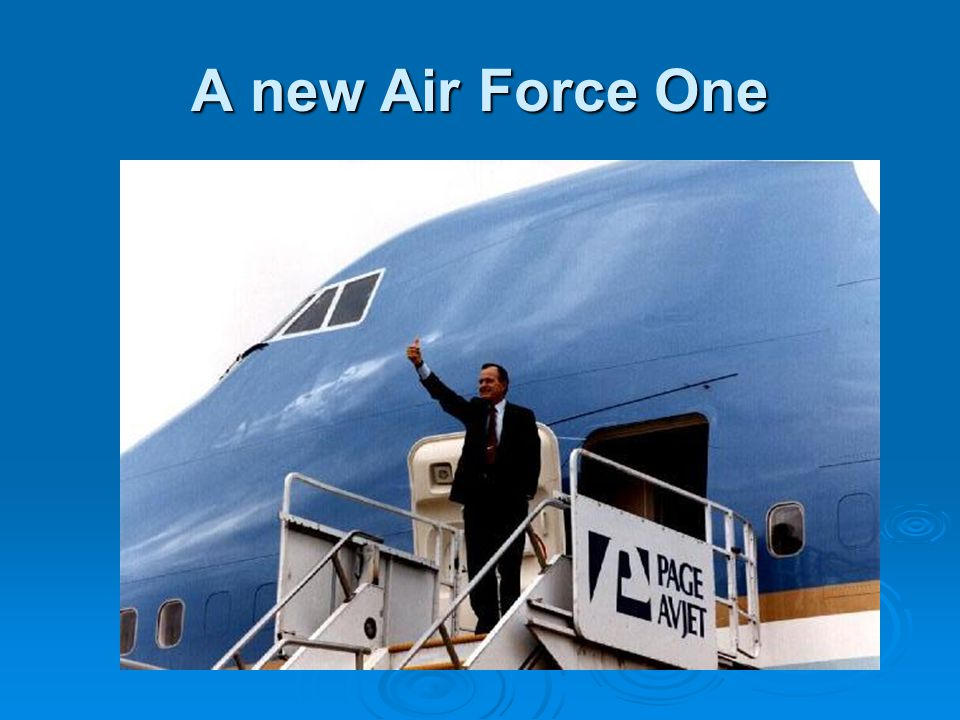 A new Air Force One