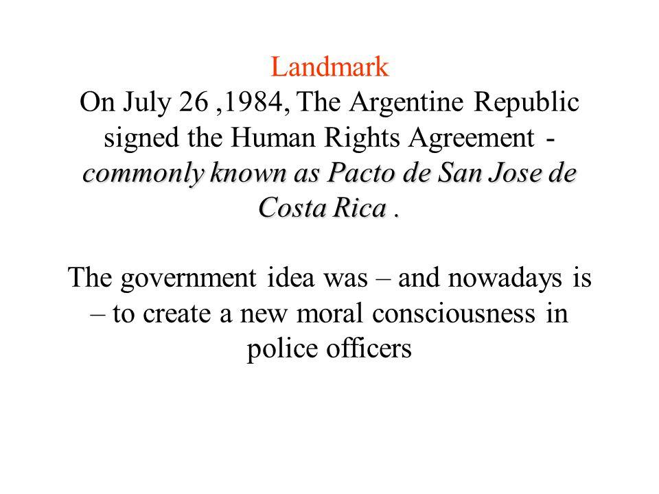 commonly known as Pacto de San Jose de Costa Rica.