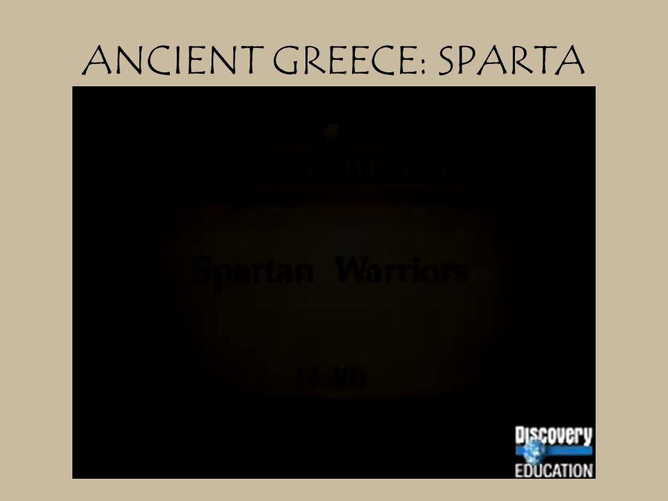 ANCIENT GREECE: SPARTA