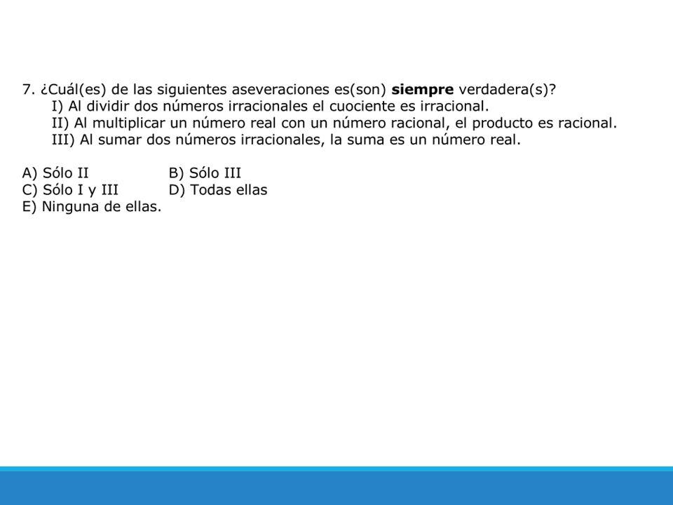 Objetivo de la Clase 1.Describir, caracterizar y operar con números reales.