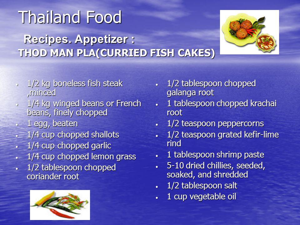 Thailand Food Recipes.