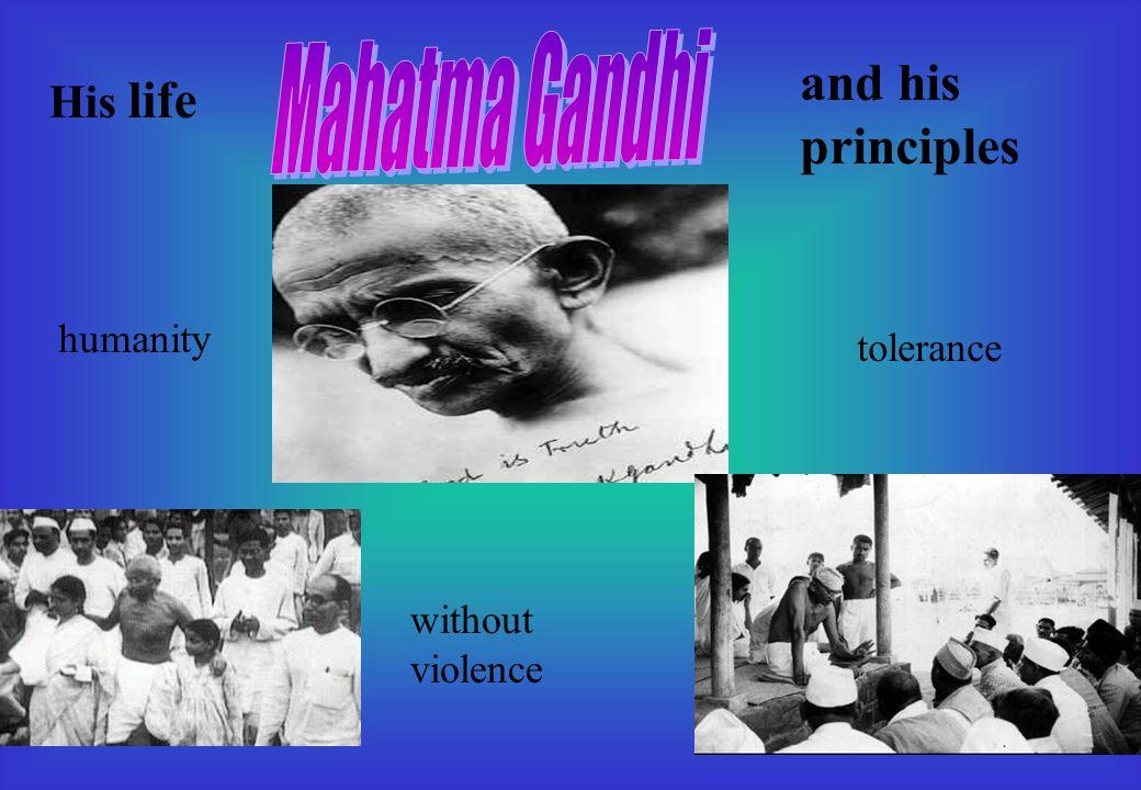 Gandhi was born in October 2, 1869 in Porbanda, India.