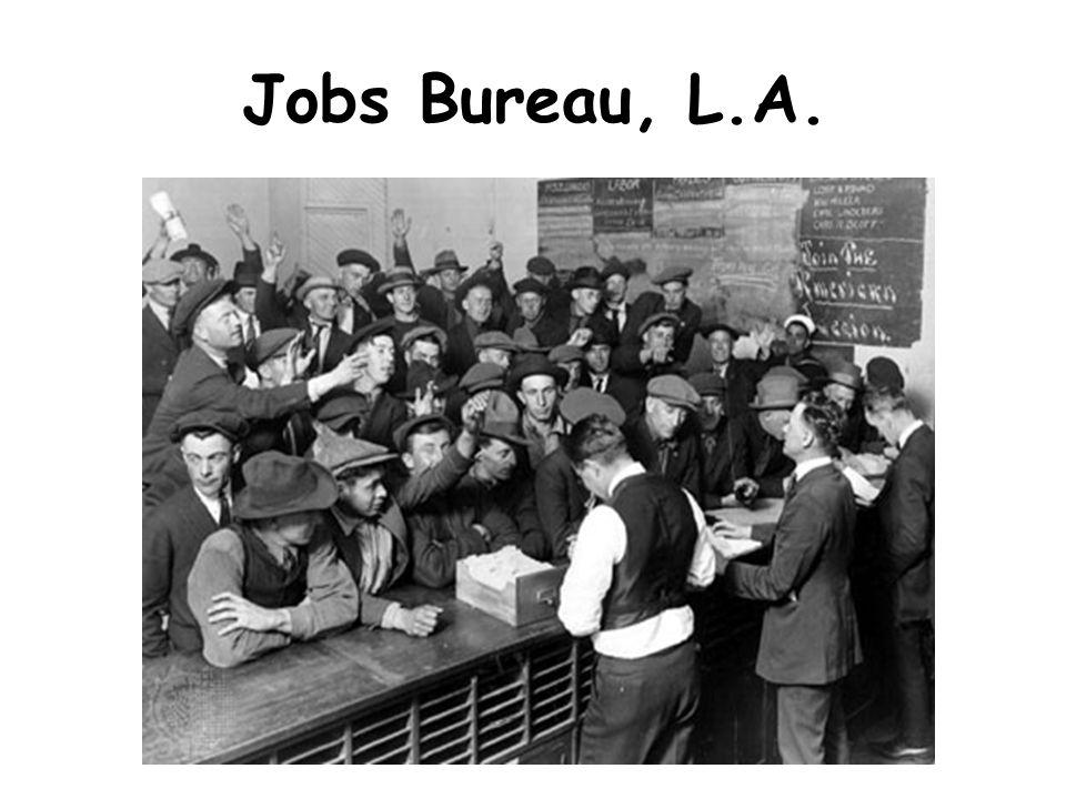 Jobs Bureau, L.A.