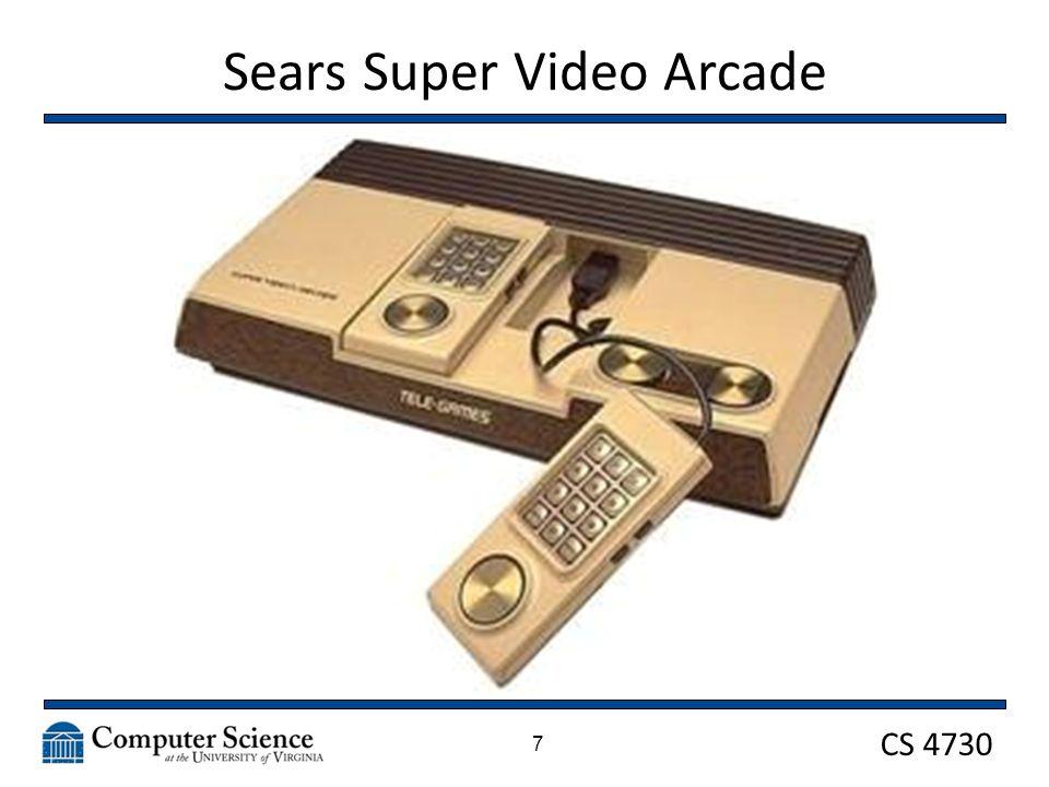 CS 4730 Sears Super Video Arcade 18