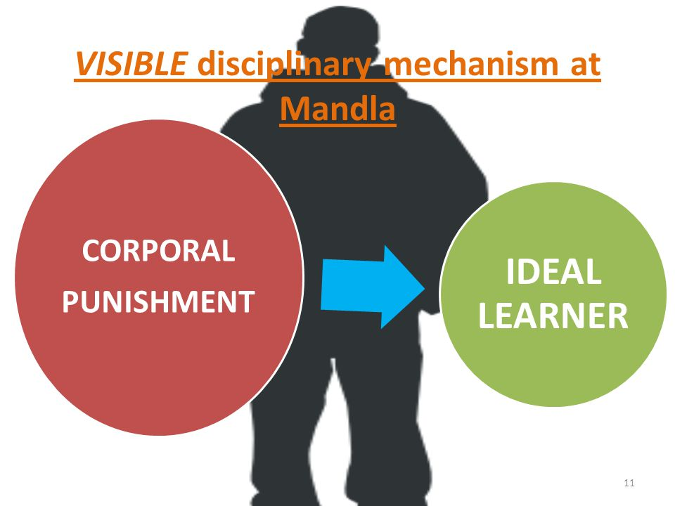 VISIBLE disciplinary mechanism at Mandla CORPORAL PUNISHMENT IDEAL LEARNER 11