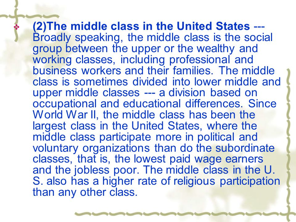  An outline of development  Raising the topic: (Para1- 2)  Millions of poor people in the US are getting invisible.  Direct opening with a thesis statement (Para 1):  Supporting the thesis statement with the author's research evidence (i.e.