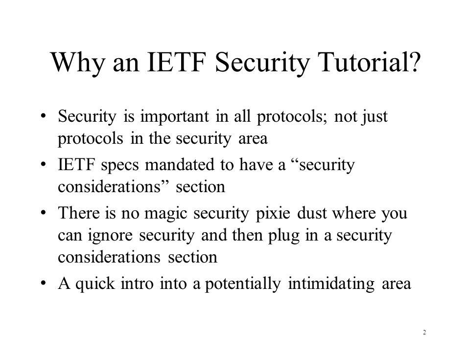 23 Secret key crypto, Alice and Bob share secret S encrypt=f(S, plaintext)=ciphertext decrypt=f(S, ciphertext)=plaintext authentication: send f(S, challenge) integrity check: f(S, msg)=X verify integrity check: f(S, X, msg)