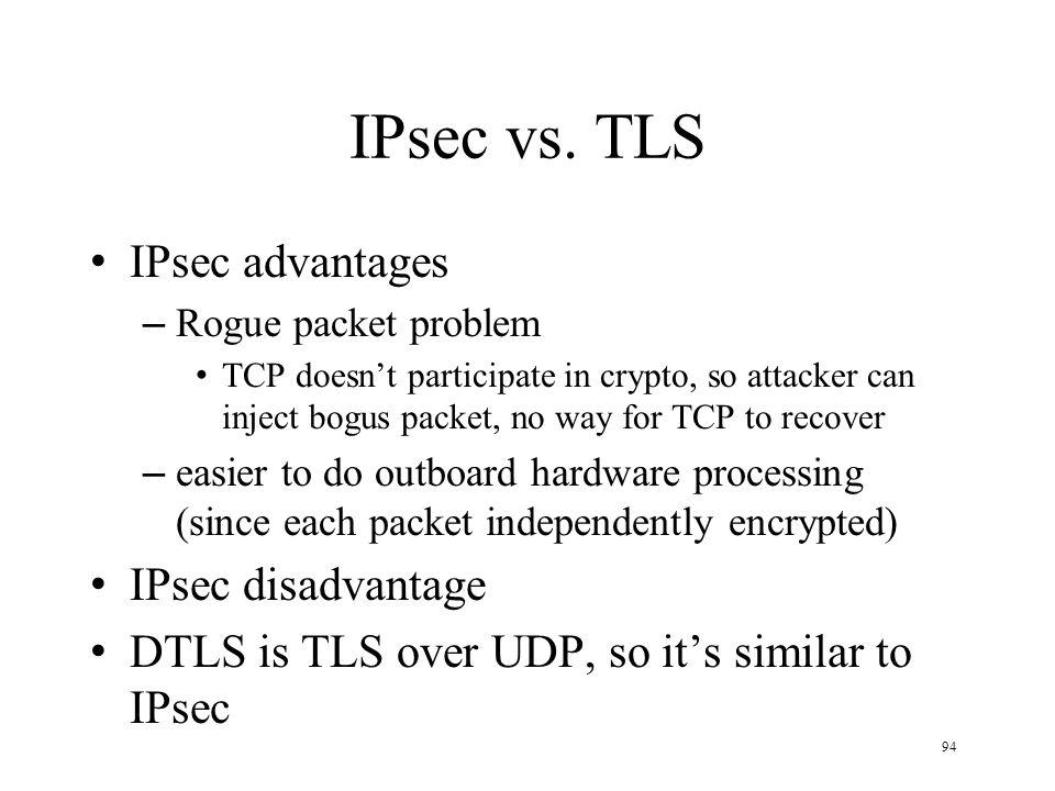 94 IPsec vs.