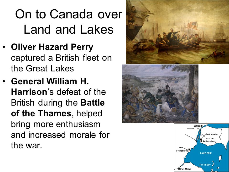 On to Canada over Land and Lakes Had the Americans captured Montreal, everything west would have fallen, but the Americans instead focused an poorly c
