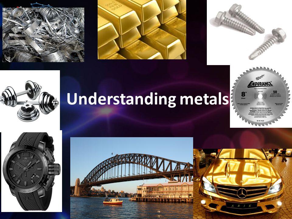 Understanding metals