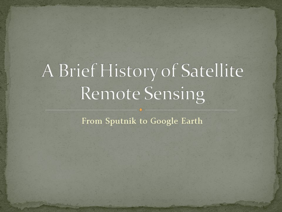 1986: France.First SPOT multispectral satellite launched.