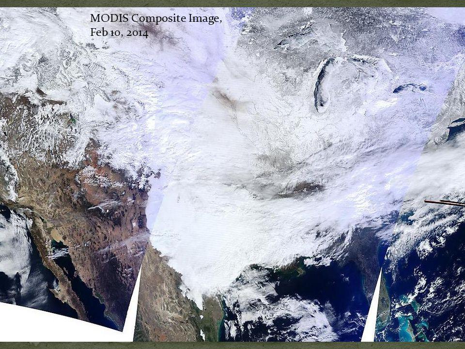 MODIS Composite Image, Feb 10, 2014