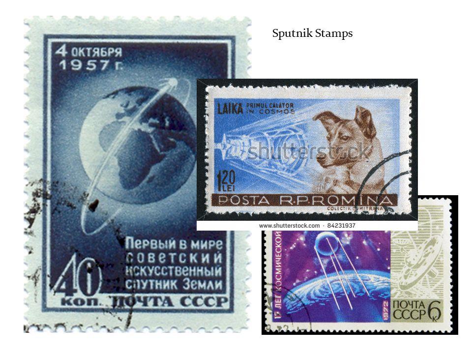Sputnik Stamps