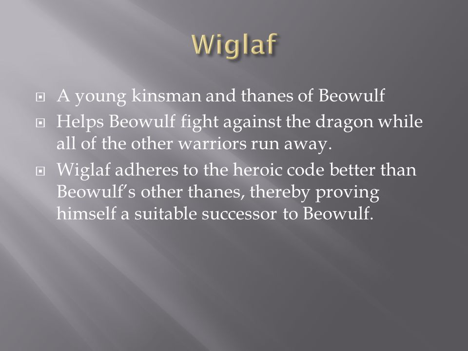  Beowulf accepts Hrothgar's challenge, and the king and his men accompany the hero to the dreadful lair of Grendel's mother.