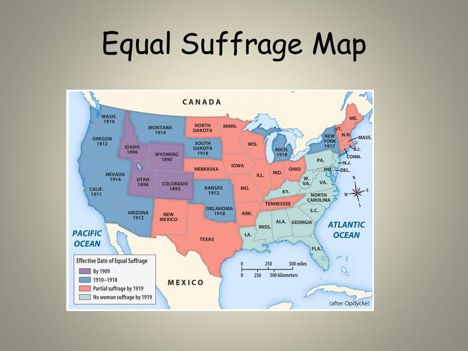 Equal Suffrage Map