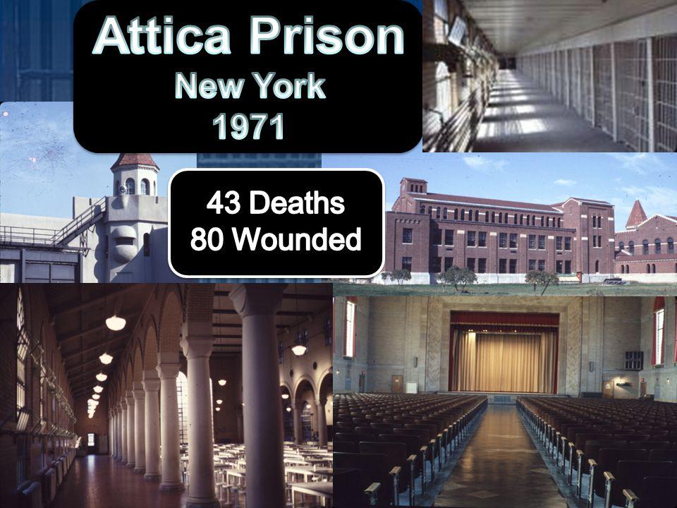 """Prison Riots Kentucky Prison rKentucky Prison riPrison Riot ClipPrison Riot Clip 1970 – 1980 = """"Explosive Decade"""""""