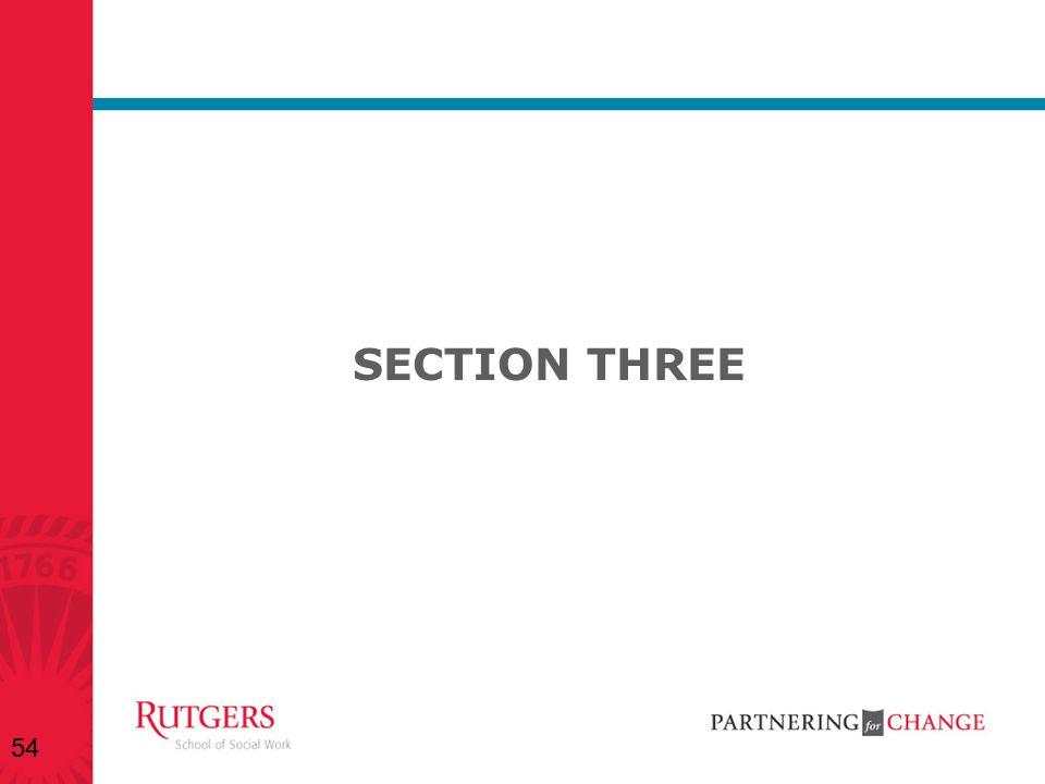 SECTION THREE 54