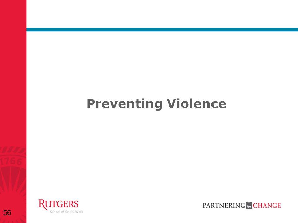 Preventing Violence 56