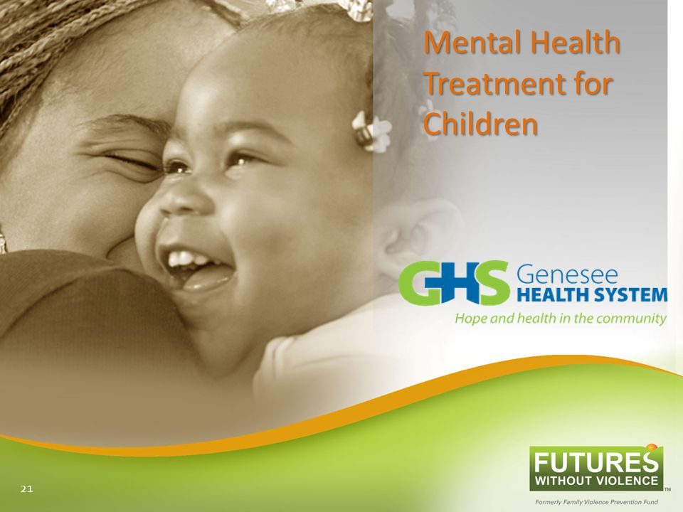 Mental Health Treatment for Children 21