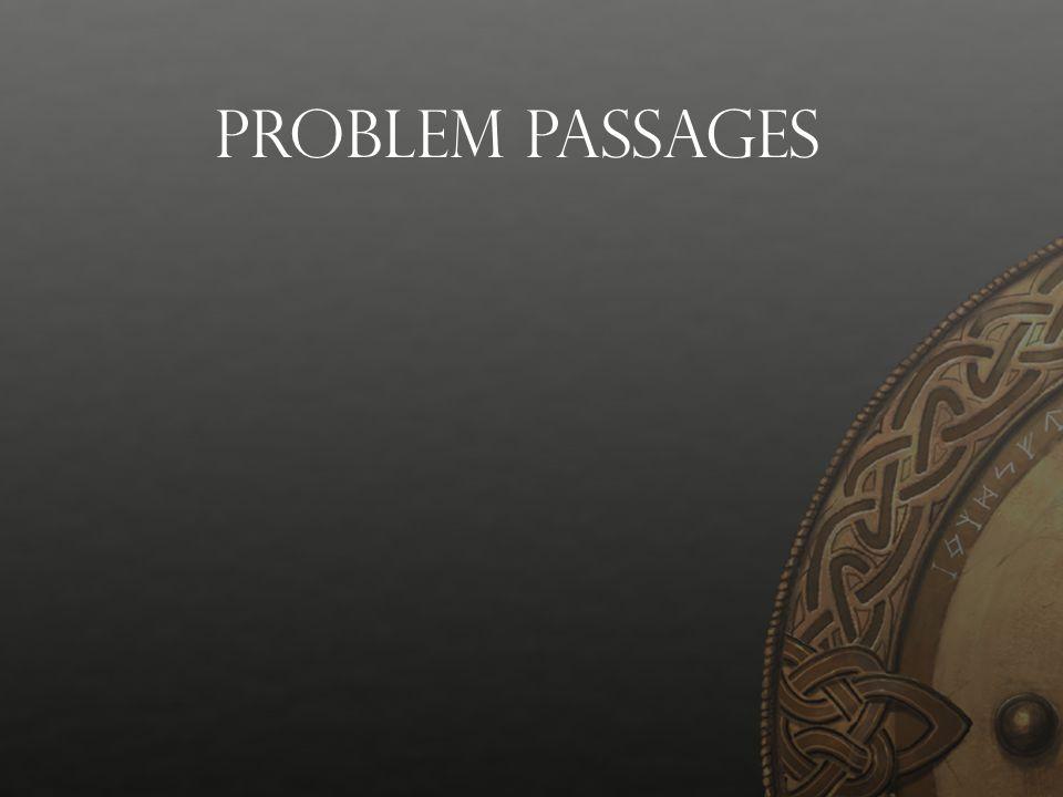 Problem Passages