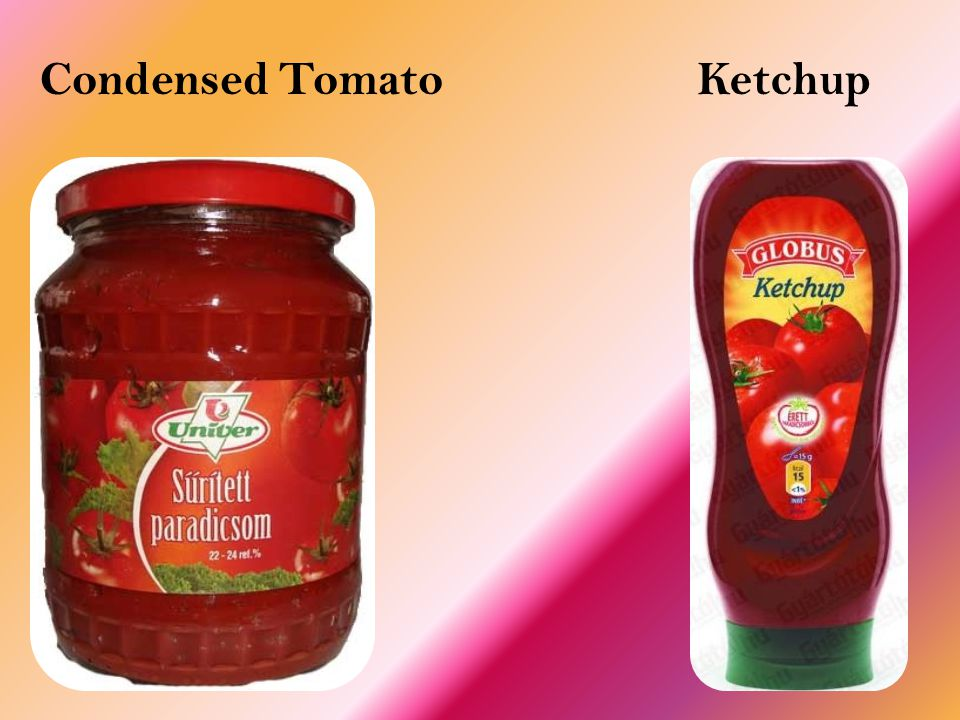 Condensed Tomato Ketchup