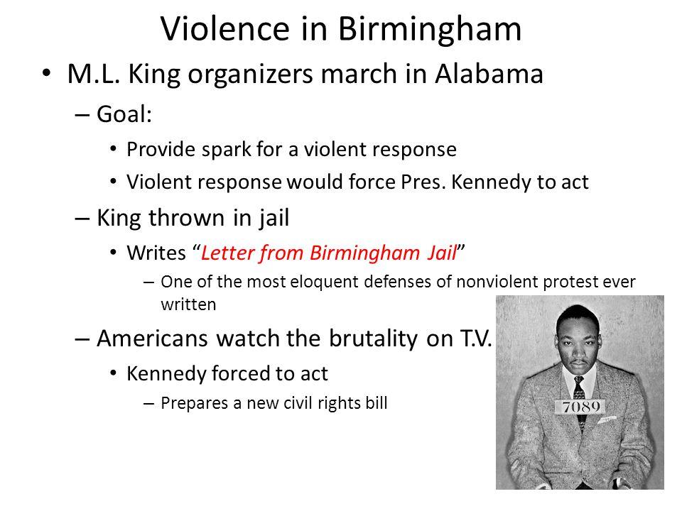 Violence in Birmingham M.L.