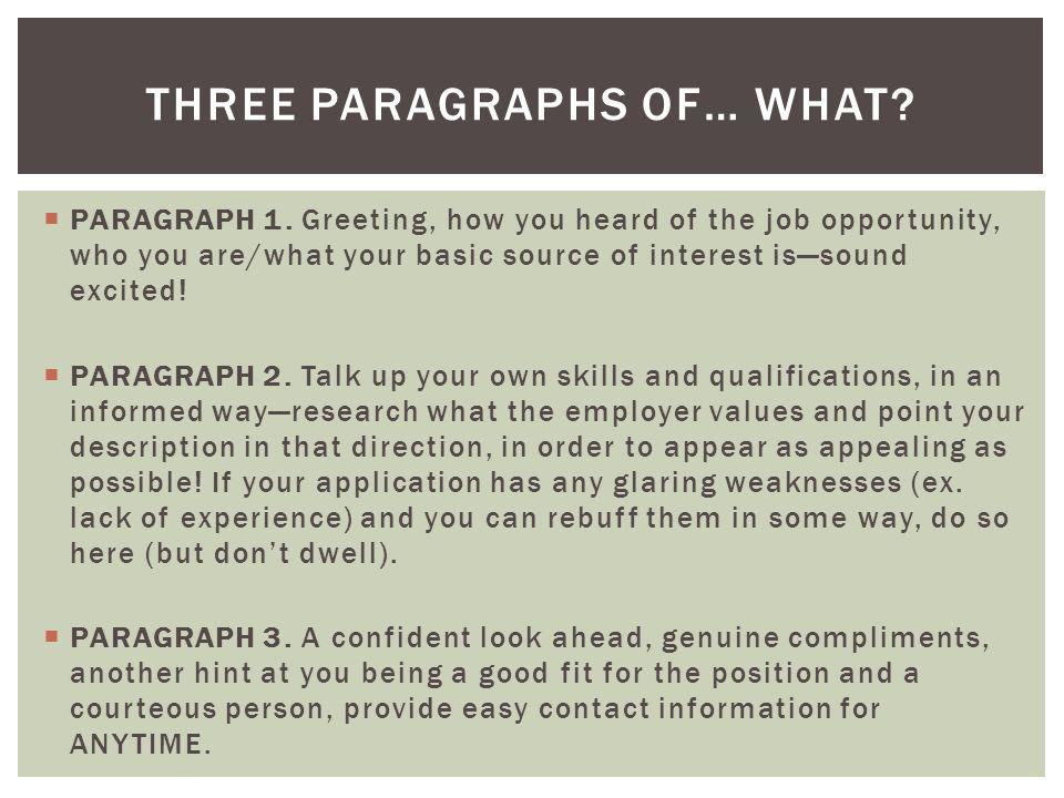  PARAGRAPH 1.